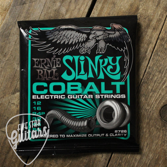 Ernie Ball Cobalt Not Even Slinky Electric Guitar Strings