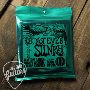 Ernie Ball Not Even Slinky Electric Guitar Strings 12-56 P02626