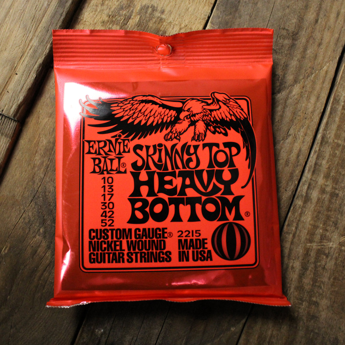 Ernie Ball Skinny Top Heavy Bottom Electric Guitar Strings