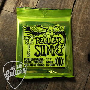 Ernie Ball Regular Slinky Electric Guitar Strings