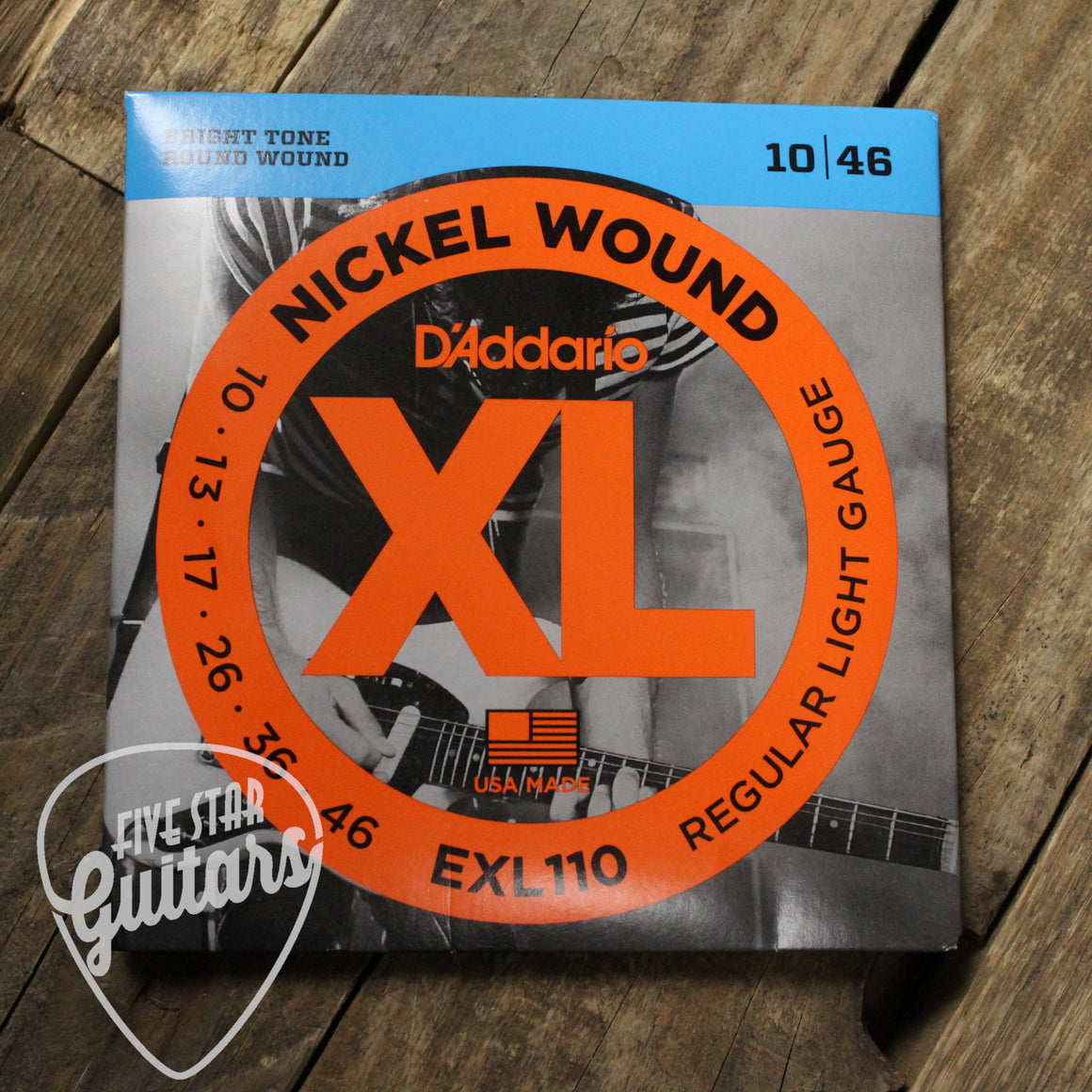 D'Addario EXL110 Electric Guitar Strings
