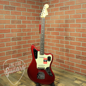Fender American Pro Jaguar, Rosewood Fingerboard, Candy Apple Red