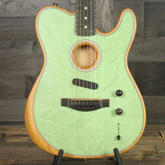 Fender American Acoustasonic Telecaster Surf Green w/ Bag