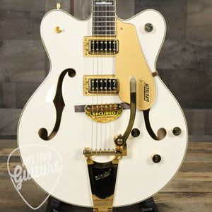 G5422TDCG Electromatic Double Cutaway Hollow Body - Snow Crest White