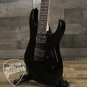 Ibanez GRG7221 7-string Electric Guitar - Black