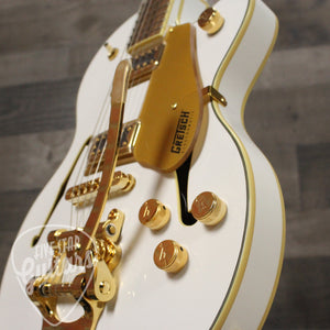 Gretsch G5655TG Limited Edition Electromatic Center Block Jr. Single-Cut With Bigsby and Gold Hardware, Laurel Fingerboard, Snow Crest White