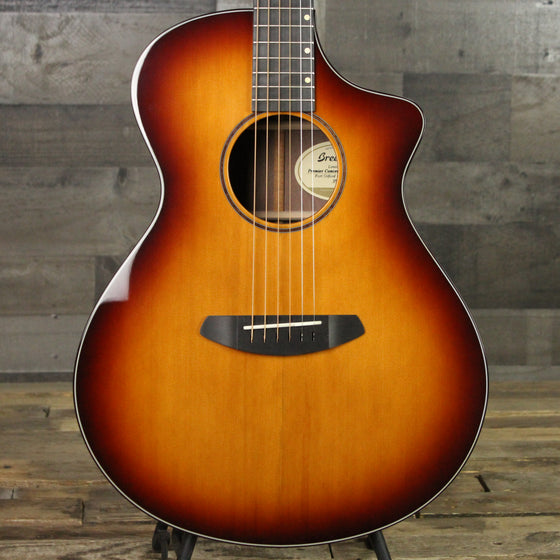Breedlove Limited Run Premier Concert Cognac Burst C - Port Orford Cedar & Walnut