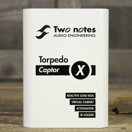 Two notes Torpedo Captor X 8 Ohm