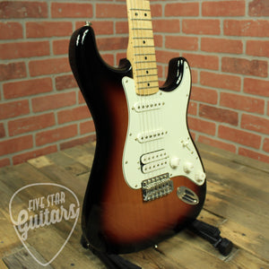 Standard Stratocaster HSS, Maple Fingerboard, Brown Sunburst