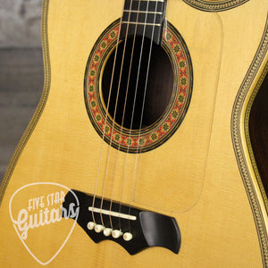 Pre-Owned 1970 Custom Made Bozo Podunavac 5-String Flat Top Acoustic with Guild Hardshell case