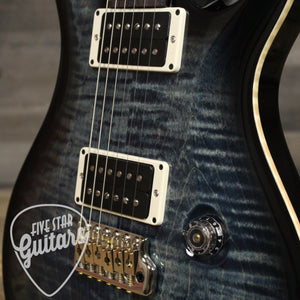 PRS Custom 22 Whale Blue Smokewrap