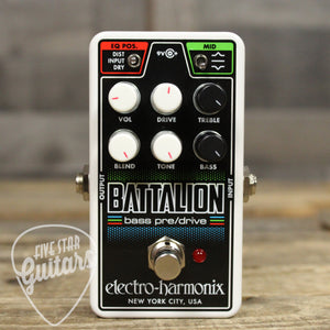 Pre-Owned Nano Battalion Bass Preamp
