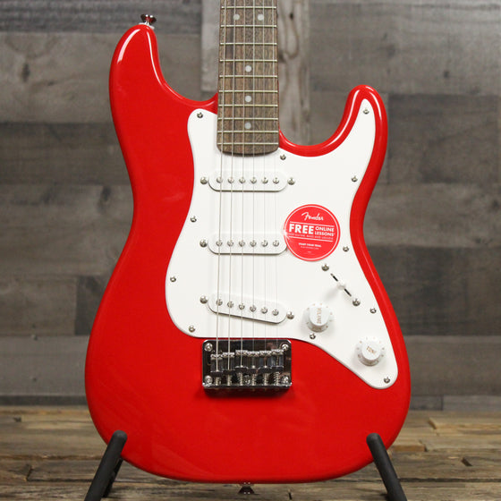 Squier Mini Strat- Rosewood Fingerboard - Torino Red