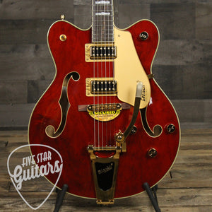 Gretsch G5422TG Electromatic Hollow Body Double-Cut with Bigsby and Gold Hardware, Walnut Stain