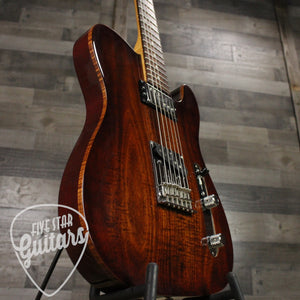 Consign Fender Select Tele Blackwood Top