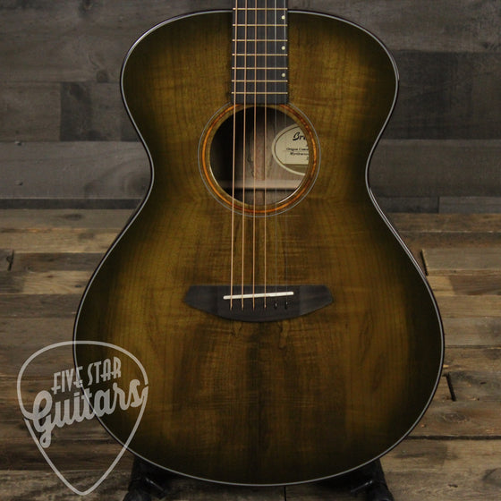 Breedlove Oregon Concert Olive E, Myrtlewood - Myrtlewood, Limited Edition
