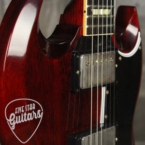 Gibson 61 Les Paul SG w/Vibrola Cherry Red