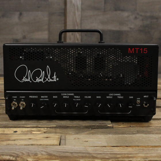 PRS Mark Tremonti MT 15 15-watt Tube Guitar Amp Head Black