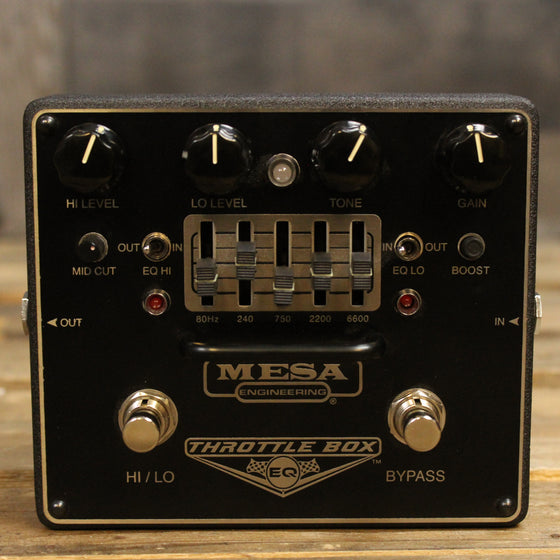 Pre-Owned Mesa Throttle Box EQ Pedal