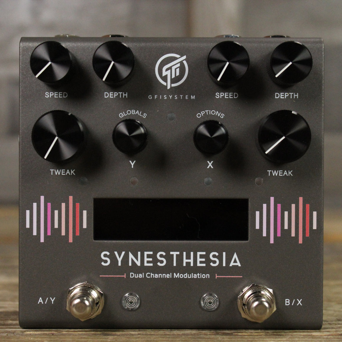 GFI Systems Synesthesia Dual Channel Modulation Pedal