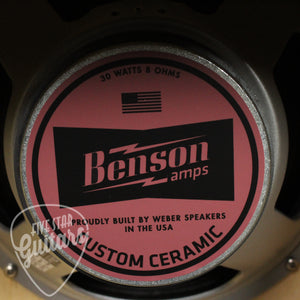 "Benson Earhart Head and Cabinet Violet Craft Premium ""Bridgetown"" Finish"
