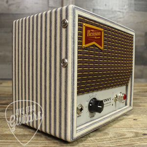 Benson Vinny 1 Watt Guitar Amplifier Head Classic Stripes with Oxblood Grill Cloth