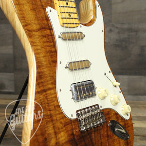 Fender Rarities Flame Koa Top Stratocaster - Natural Guitar