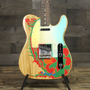 Fender Jimmy Page Telecaster with Graphic - Natural