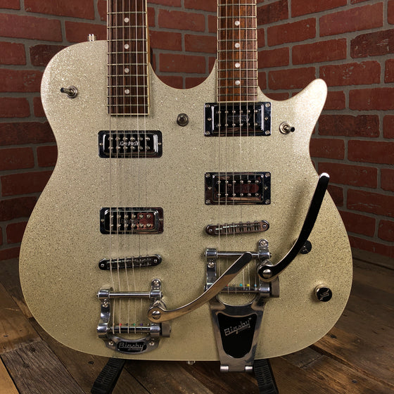 Pre-owned Gretsch G5566 double-neck w/ gigbag