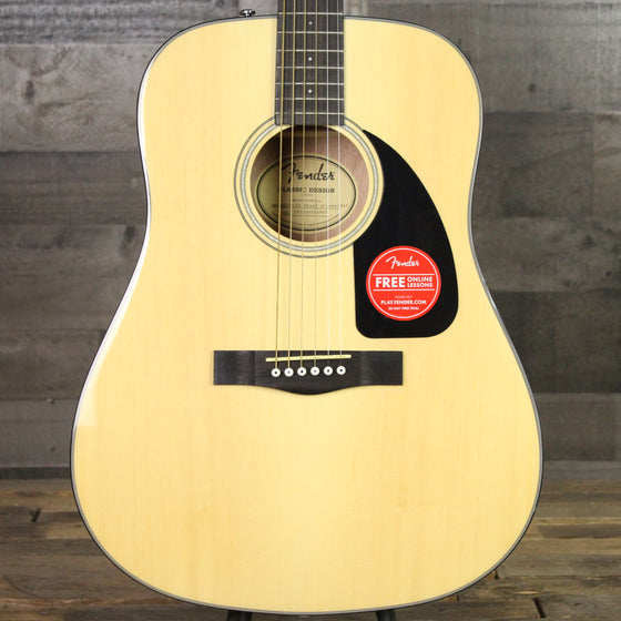 Fender CD-60 Dread with Case Natural
