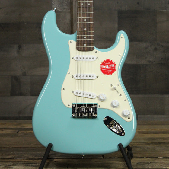 Squier Bullet Strat Hardtail - Tropical Torquise
