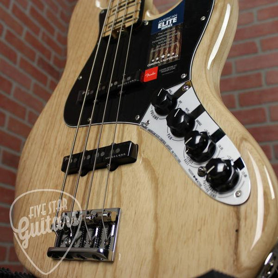 TOO American Elite Jazz Bass Ash, Maple Fingerboard, Natural