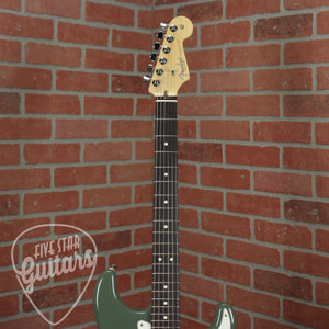 Fender American Pro Stratocaster HH ShawBucker, Rosewood Fingerboard, Antique Olive