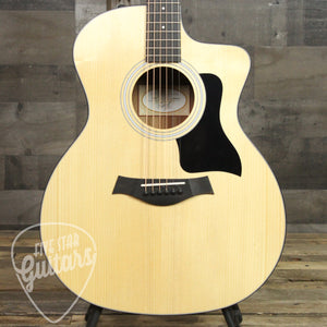 Taylor 114ce Sitka Top Layered Walnut Back & Sides