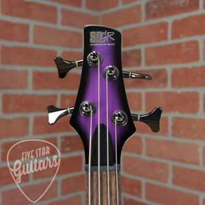 Ibanez SR300E 4-String Electric Bass Guitar - Metallic Purple Sunburst