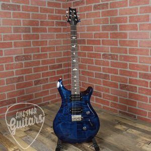 PRS Paul Reed Smith S2 Custom 24 Guitar, Whale Blue - C4TBA3-WB