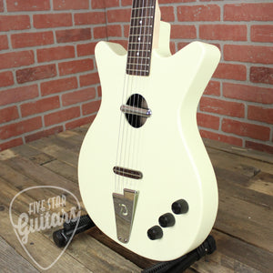 Pre-Owned Danelectro Convertible Acoustic-Electric Guitar Cream