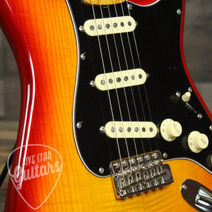 Pre-Owned Flame Ash Top Strat