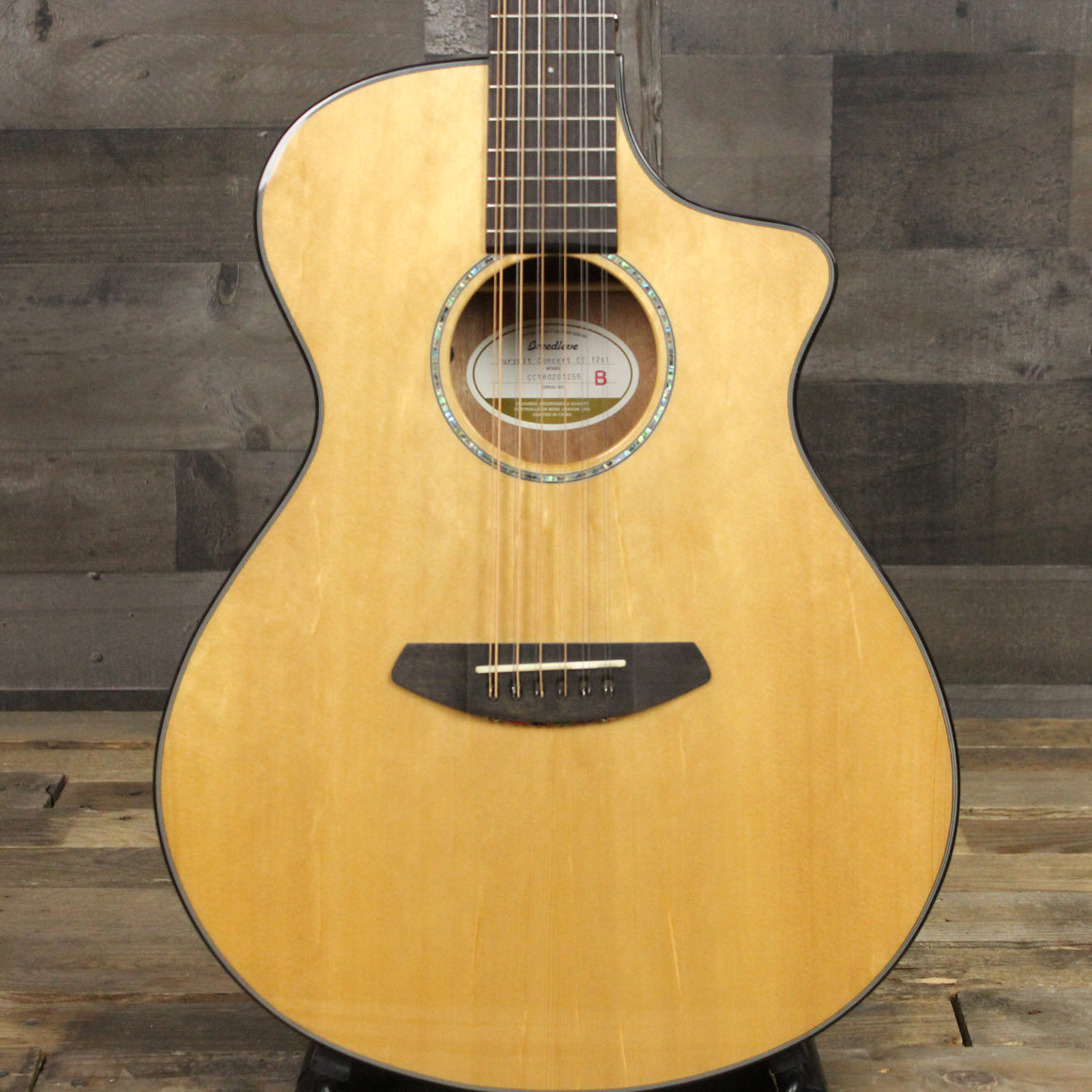 Breedlove Pursuit Concert 12 string CE B-stock Sitka Mahogany