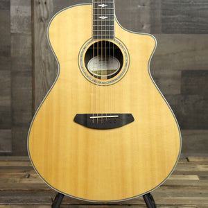 Breedlove Stage Exotic Concert CE Spruce and Ziricote - Front