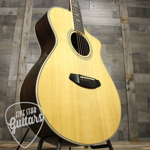 Breedlove Stage Exotic Concert CE Spruce and Ziricote - Lower Bass Side