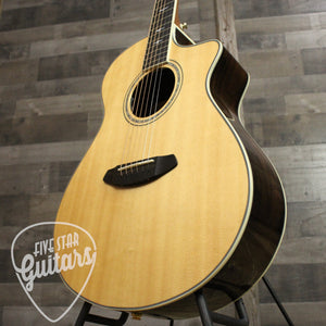 Breedlove Stage Exotic Concert CE Spruce and Ziricote - Lower Treble Side