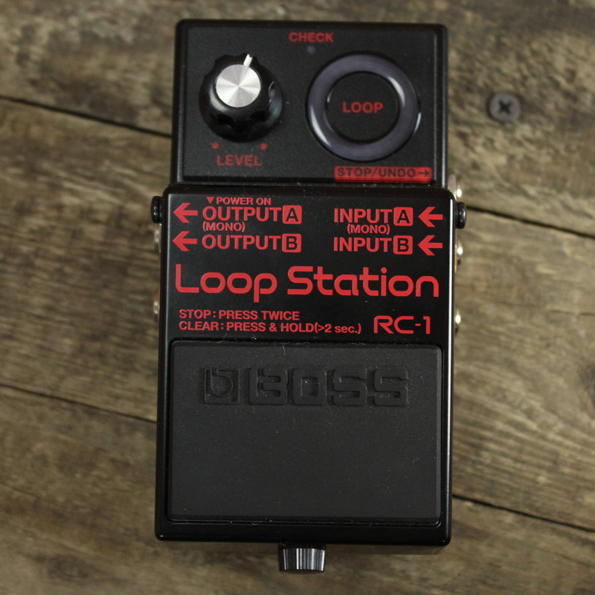 Boss RC-1 Loop Station Looper Pedal - Black