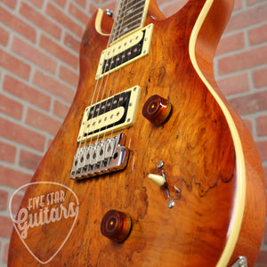 PRS SE Custom 24 Exotic Top - Spalted Maple
