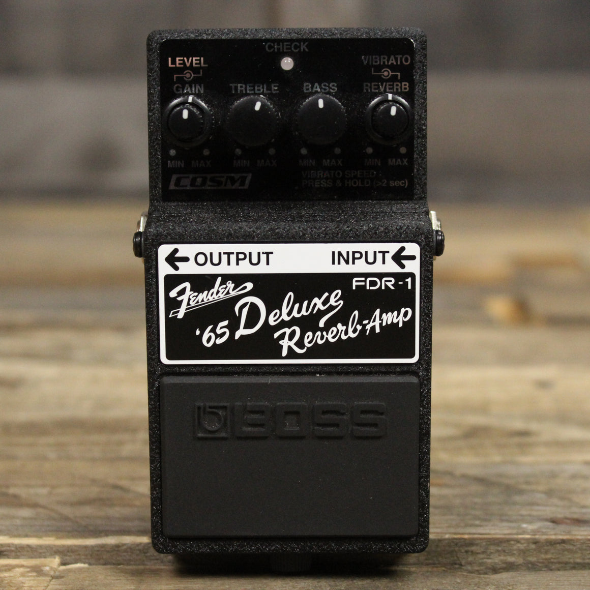 Pre-Owned Boss Deluxe Reverb Pedal
