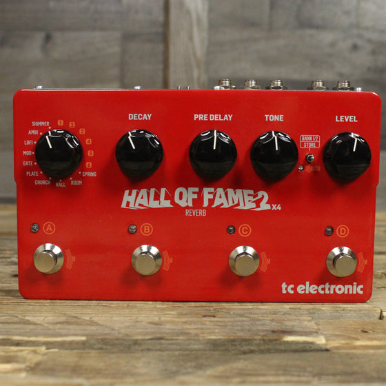 Hall of Fame 2 X4 Reverb Pedal