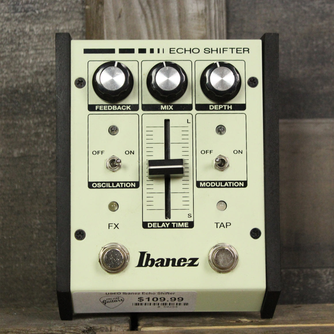 Pre-Owned Ibanez Echo Shifter