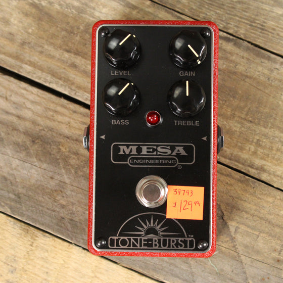 Pre-owned Mesa Tone-Burst Overdrive with box & manual