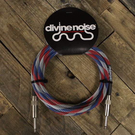 Divine Noise 10' Patriot Tech Flex Cable - Straight, Straight
