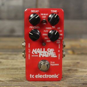 Pre-Owned TC Electronic Hall Of Fame Reverb